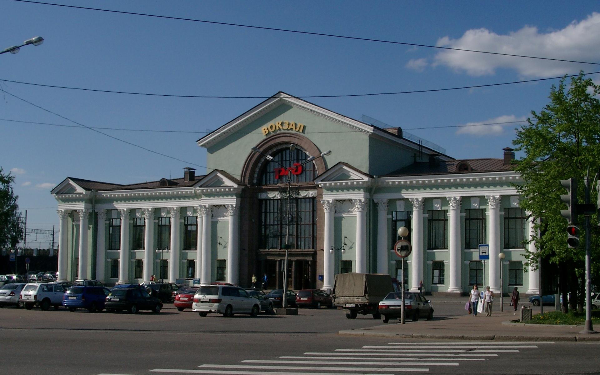 Выборг._Вокзал