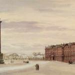 """A.Benois """"Place du Palais"""""""